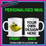 YELLOW SUBMARINE COFFEE MUG BIRTHDAY GIFT PERSONALISED